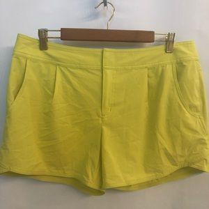 Athleta Yellow Shorts (12)
